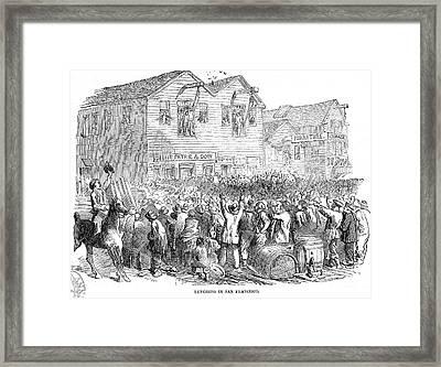 Vigilante Lynching, 1851 Framed Print by Granger