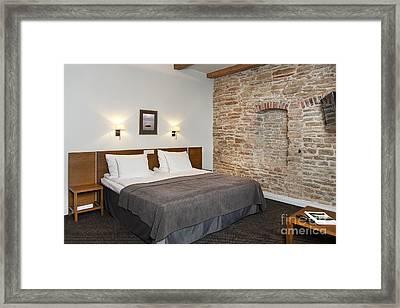 Vihula Manor Hotel Bedroom Interior Framed Print by Jaak Nilson