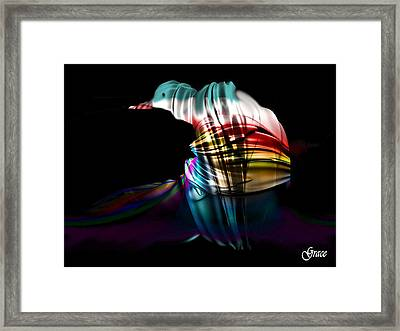 Waiting For The Dawn Framed Print by Julie Grace