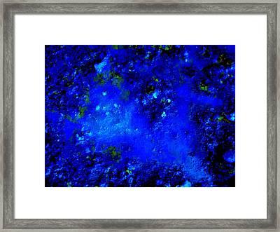 Walking On The Moon Framed Print by Allen n Lehman