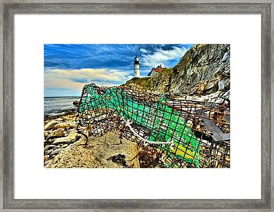 Washed Up Framed Print by Adam Jewell