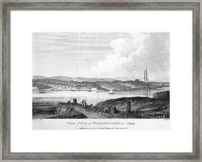 Washington, D.c., 1800 Framed Print by Granger