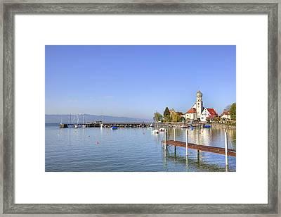 Wasserburg Framed Print by Joana Kruse
