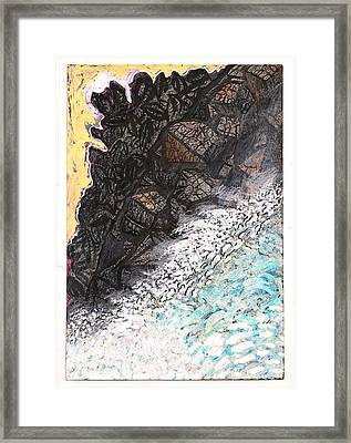 Outcropping And Spring Thaw Framed Print by Al Goldfarb