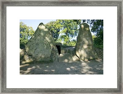 Wayland's Smithy, Oxfordshire, Uk Framed Print by Sheila Terry