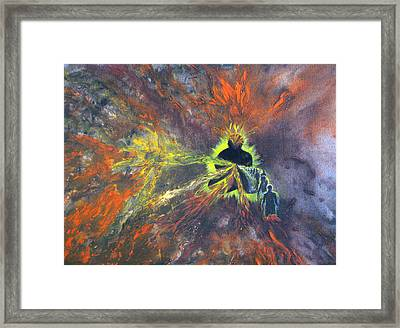 Which One Of These Is Me Framed Print by Sujata Tibrewala