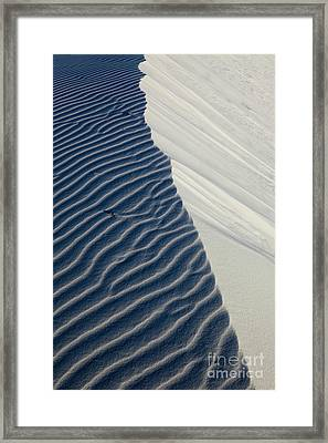 White Sands Framed Print by Keith Kapple