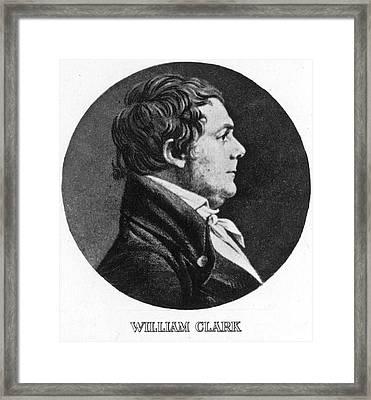 William Clark (1770-1838) Framed Print by Granger