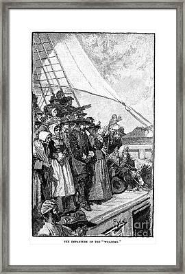 William Penn (1644-1718) Framed Print by Granger