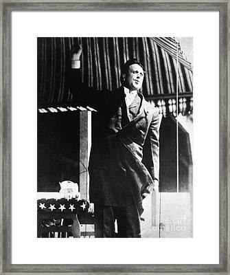 William Randolph Hearst Framed Print by Granger