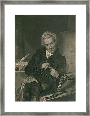 William Wilberforce 1859-1833 British Framed Print by Everett