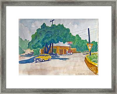 Wimberley Texas  Framed Print by Fred Jinkins