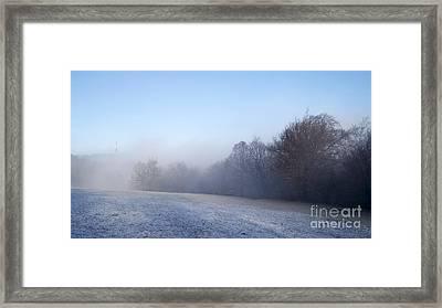 Winter Landscape Framed Print by Odon Czintos