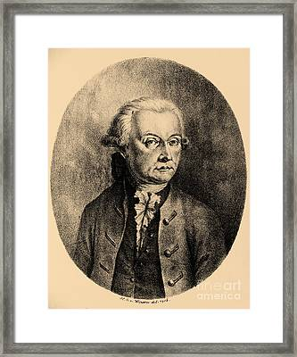 Wolfgang Amadeus Mozart, Austrian Framed Print by Photo Researchers, Inc.