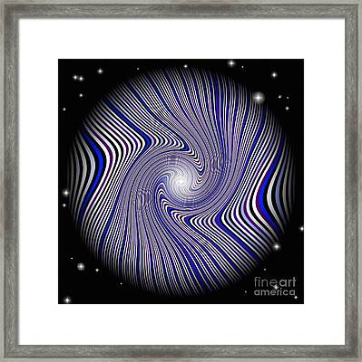 Wormhole Trip Framed Print by Pet Serrano