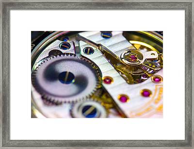 Wrist Watch Interior Framed Print by Pasieka