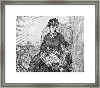 Young Frederick Douglass Framed Print by Granger