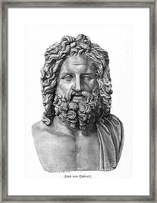 Zeus Framed Print by Granger