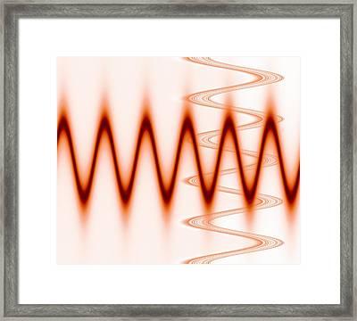 Abstract Computer Artwork Framed Print by Mehau Kulyk