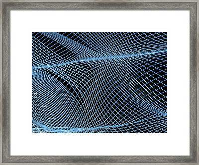 Abstract Artwork Framed Print by Pasieka