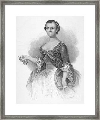 Martha Washington Framed Print by Granger