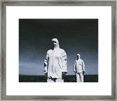 Protective Clothing Framed Print by Cristina Pedrazzini