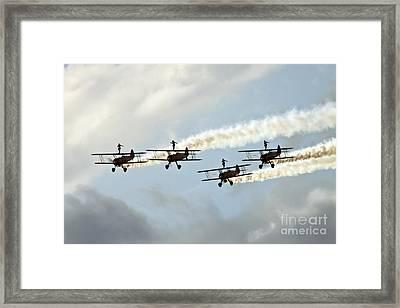 Wingwalkers Framed Print by Angel  Tarantella
