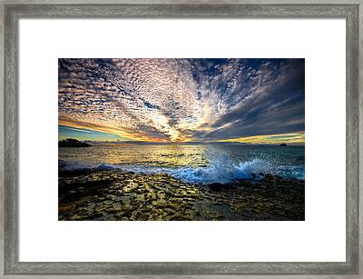 Point Peron Wa Framed Print by Imagevixen Photography