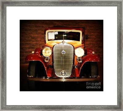 12v Collector Car Framed Print by Susanne Van Hulst