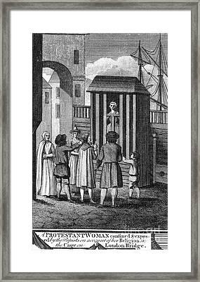 Foxe: Book Of Martyrs Framed Print by Granger