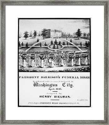 William Henry Harrison Framed Print by Granger