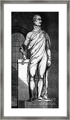 Alexander Hamilton Framed Print by Granger
