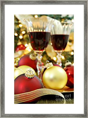 Christmas Framed Print by HD Connelly