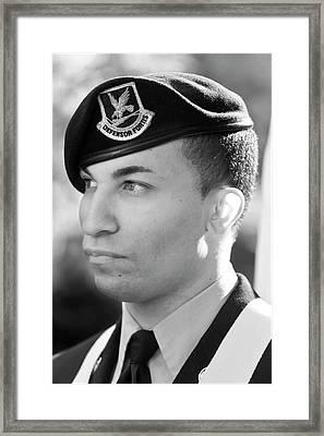 Veterans Day Nyc 11 11 11 Framed Print by Robert Ullmann