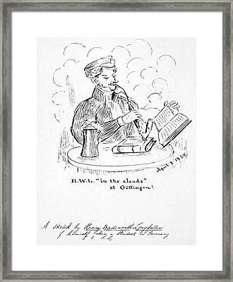 Henry Wadsworth Longfellow Framed Print by Granger