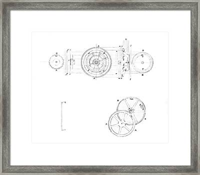 18th Century Chronometer, Artwork Framed Print by Library Of Congress