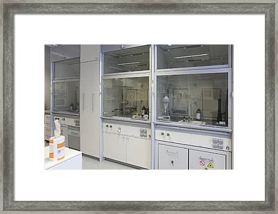 Chemicum The Institute Of Chemistry Framed Print by Jaak Nilson