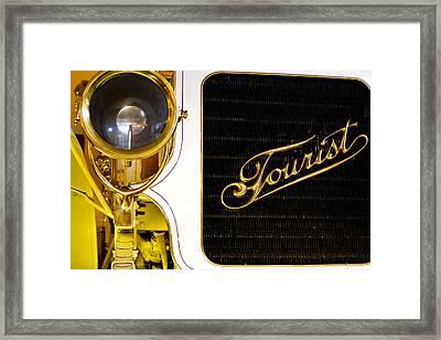 1907 Tourist Model K Framed Print by David Patterson