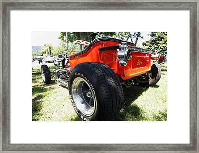 1923 Ford T-bucket . 5d16459 Framed Print by Wingsdomain Art and Photography