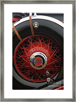 1929 Cord L-29 Detail - D008158 Framed Print by Daniel Dempster
