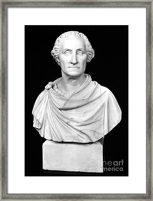 George Washington Framed Print by Granger