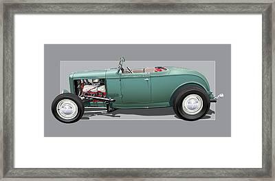 1932 Deuce Framed Print by Alain Jamar