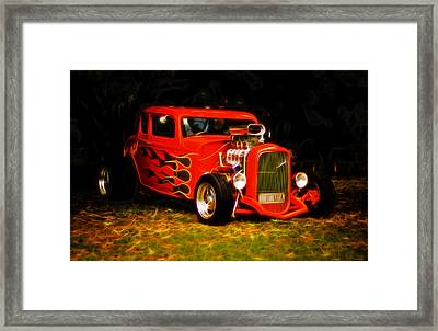 1932 Ford Coupe Hot Rod Framed Print by Phil 'motography' Clark