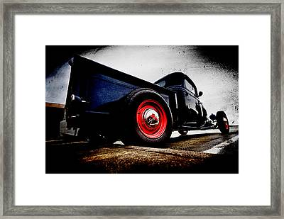 1934 Ford Pickup Framed Print by Phil 'motography' Clark