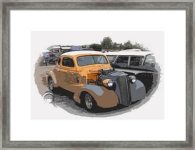 1937 Chevy Coupe Framed Print by Steve McKinzie
