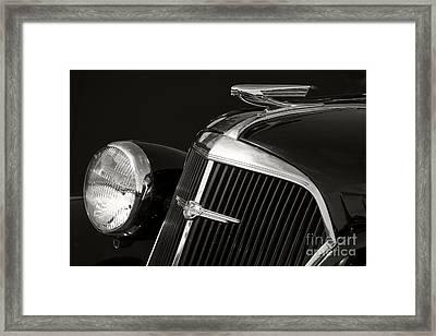 1937 Chevy Framed Print by Dennis Hedberg