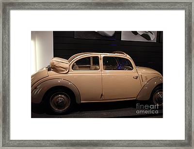 1938 Mercedes Benz 170h - 7d17311 Framed Print by Wingsdomain Art and Photography