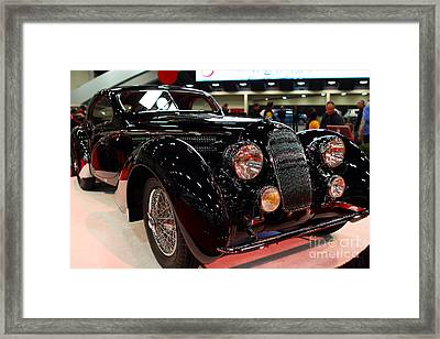 1938 Talbot Lago T150-c Speciale Teardrop Coupe . 7d9307 Framed Print by Wingsdomain Art and Photography