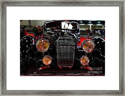 1938 Talbot Lago T150-c Speciale Teardrop Coupe . 7d9310 Framed Print by Wingsdomain Art and Photography