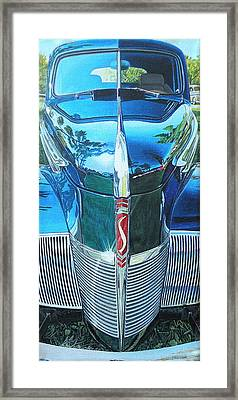 1940 Studebaker Coupe Framed Print by Jeff Taylor